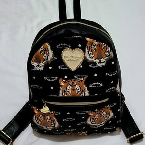 COPY - Betsy Johnson Tiger Backpack